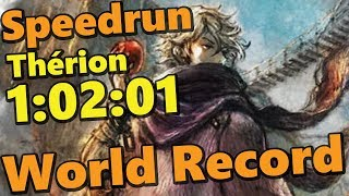 WORLD RECORD OCTOPATH TRAVELER THÉRION STORY