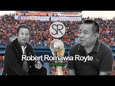 SR : Robert Romawia Royte | Interview | Aizawl FC [2.5.2017]