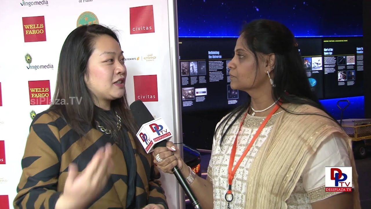 Jessica Chang speaking about Movie Backward Class at South Asian Film Festival