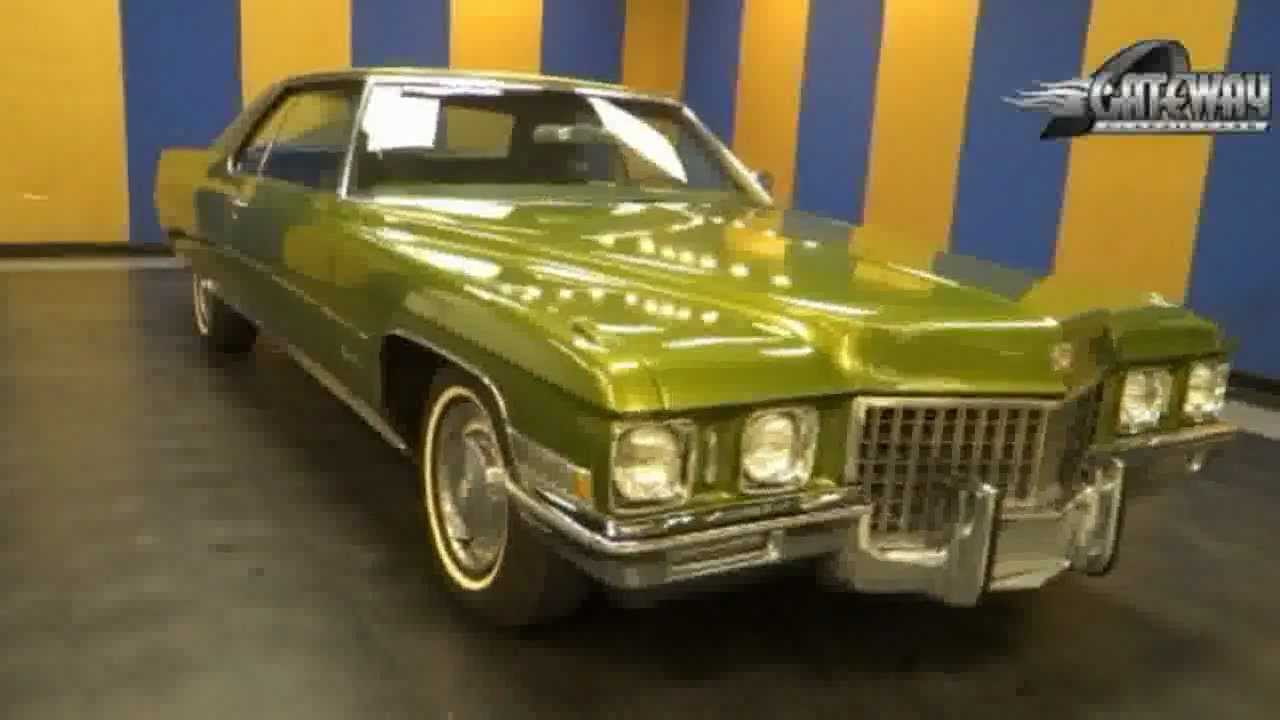 Cadillac Coupe For Sale >> 1971 Cadillac Coupe Deville for sale (St. Louis) - Used