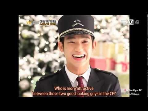 [Engsub] Wide Entertainment 10.12 - Kim Soo Hyun In Winter Wonderland