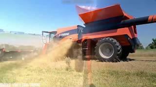 Największy Kombajn Na Świecie |The world's largest harvester !