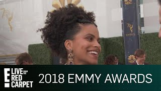 Zazie Beetz Gets Starstruck at the 2018 Emmys | E! Red Carpet & Award Shows
