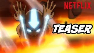 Avatar The Last Airbender Netflix New Episodes First Look Teaser - TOP 10 WTF Scenes Breakdown