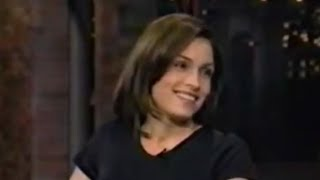 Famke Janssen on David Letterman - 1997