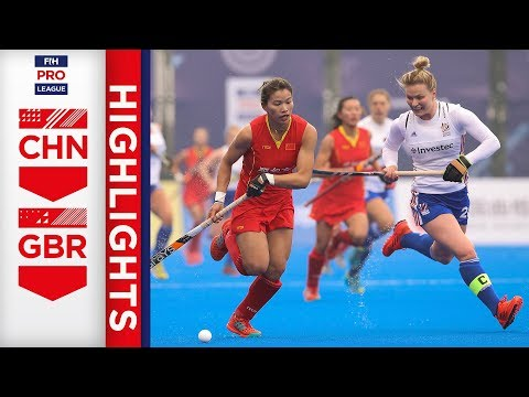 China v Great Britain | Week 6 | Women's FIH Pro League Highlights