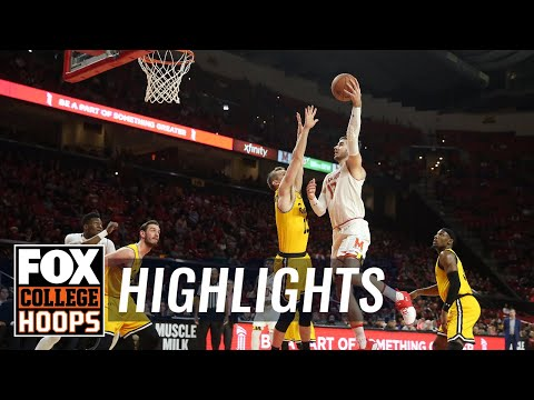 Maryland vs UMBC | Highlights | FOX COLLEGE HOOPS