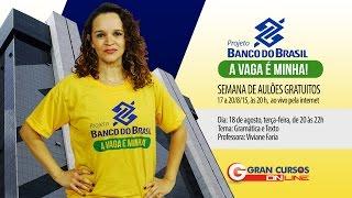 Video Projeto Banco do Brasil - Gramática e Texto - Prof. Viviane Faria download MP3, 3GP, MP4, WEBM, AVI, FLV September 2018