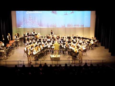 """""""Baby It's Cold Outside"""" - Christmas 2014 North Rockford Middle School 8th Grade Band"""