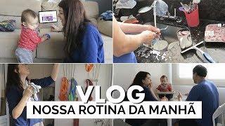 NOSSA ROTINA DA MANHÃ | Vlog #64 | Lia Camargo