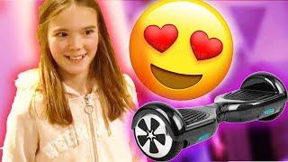Ich schenke meiner KLEINEN SCHWESTER ein Hoverboard! (überraschung)... -DailyVlog 83