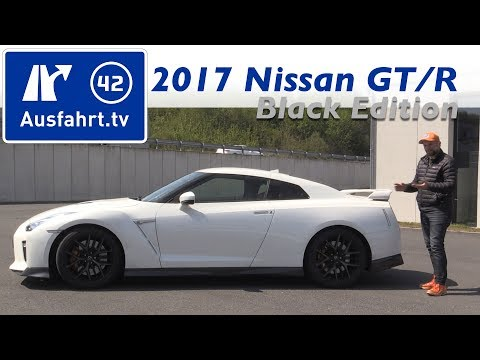 2017 Nissan GT-R Black Edition - Fahrbericht der Probefahrt, Test, Review