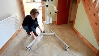 Ardoo Caresafe 140 Portable Disability Hoist -  Opening And Closing Legs