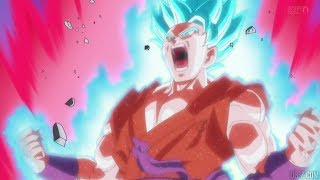 Goku goes SSB Kaioken X10 English Dub (Ep. 39) HD
