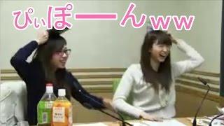 フザけすぎてざーさんの話を聞いてなかった二人(笑) 花澤香菜 戸松遥 ...