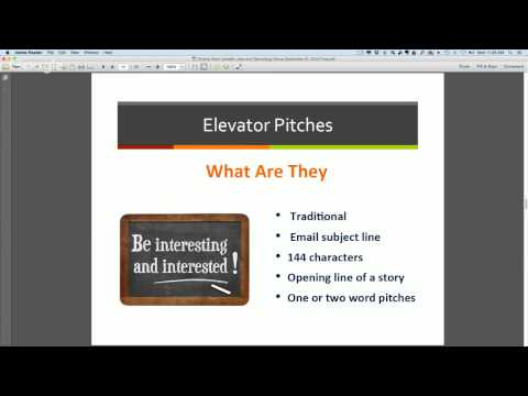 'Finding Work For Freelance Writers. First Steps - Next Steps' webinar