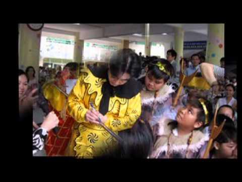 Lục Tiểu Linh Đồng ngao du Trường TH Nguyễn Bỉnh Khiêm