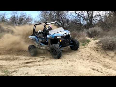 DRIVING A RZR 1000 TURBO!!