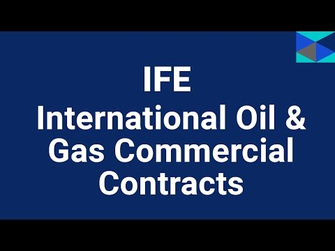 International Oil & Gas & Commercial Contracts Training Course