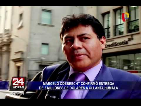Marcelo Odebrecht confirma haber entregado US$3 millones a Ollanta Humala