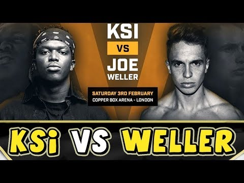 KSI VS JOE WELLER - RAP/SONG - (Boxing Match Promo)