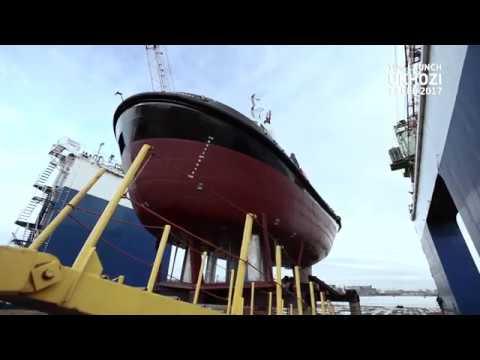 Launch of Transnet's UKHOZI Tug