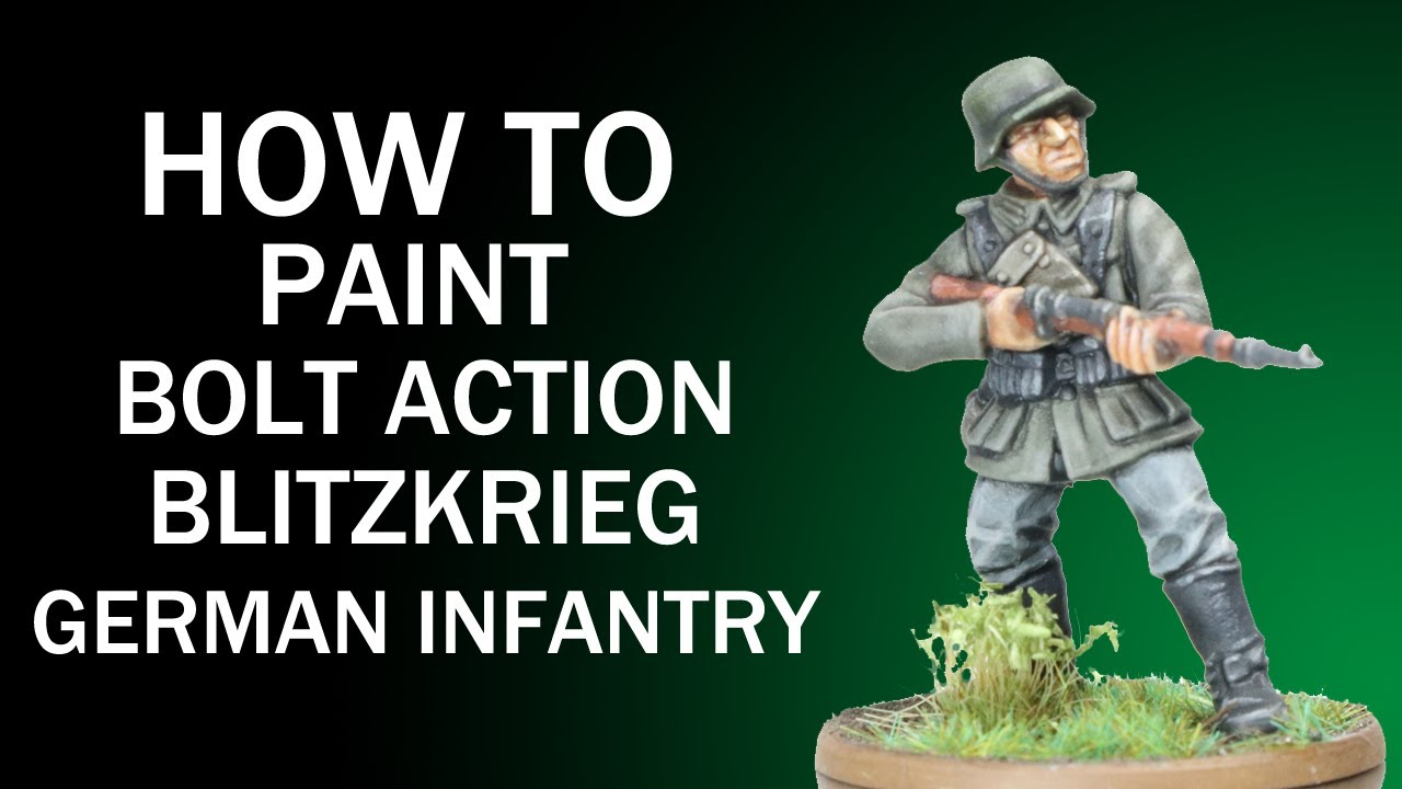 Warlord Games Bolt Action Blitzkrieg German Infantry