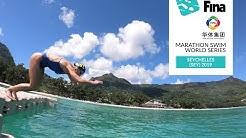 Check out the 10km Elite Open Water Swim venue in the Seychelles