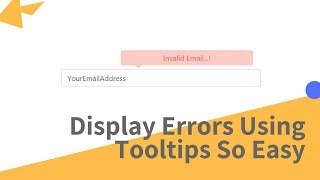 How to Display Error Message to User