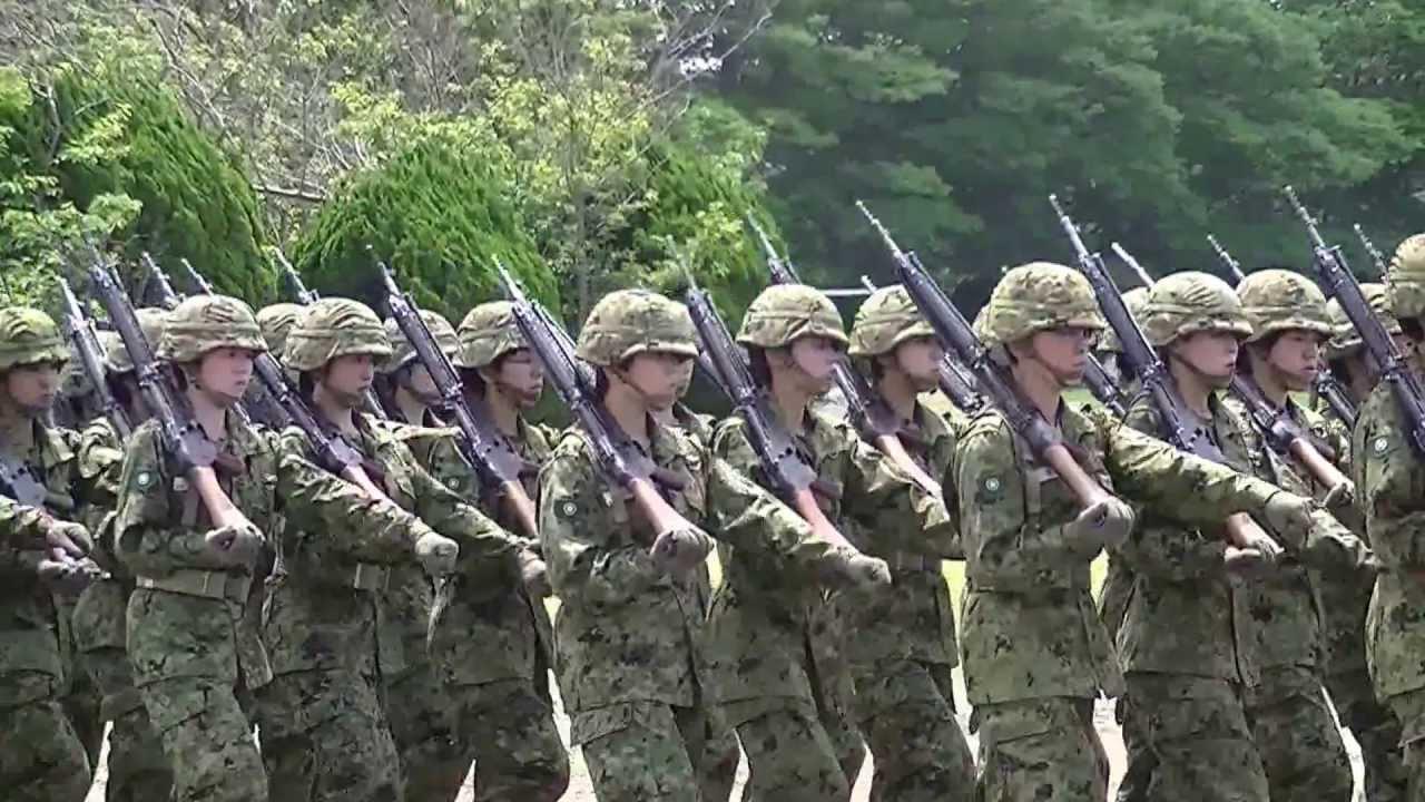 東部方面混成団創立2周年記念行...