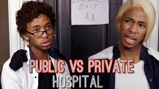 When You Go Test for Corona - Public Hospital VS Private Hospital (Lasizwe Dambuza)