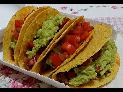 Tacos | Old El Paso | Mexican : ASMR / Mukbang ( Eating Sounds )