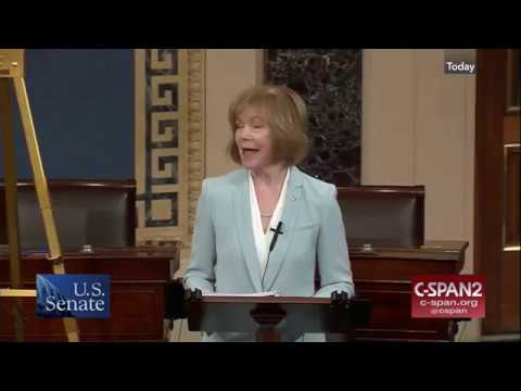 Senator Tina Smith's Maiden Speech to The Senate