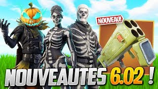 ALL FORTNITE NEWS 6.02! (New Skins - Patch Note 6.0.2)