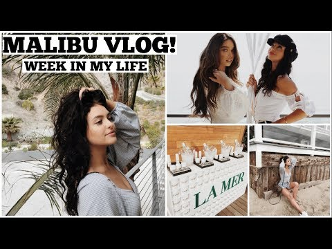 MALIBU VLOG   La Mer launch, Awesomeness TV, Beach Adventures!