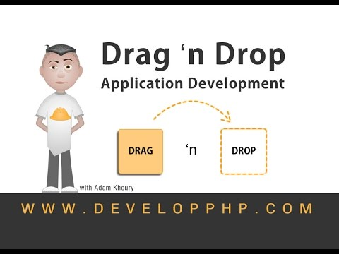 Drag and Drop Application Development DnD Tutorial