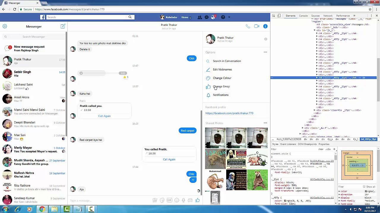 how to download video from facebook messenger to computer