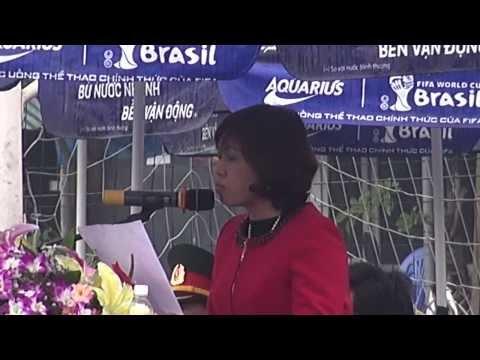 Diễn văn khai mạc giải bóng đá mini - THCS Cổ Nhuế