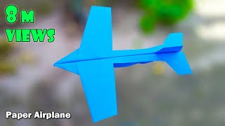how to make paper airplanes that fly far   paper airplane that flies far easy step by step