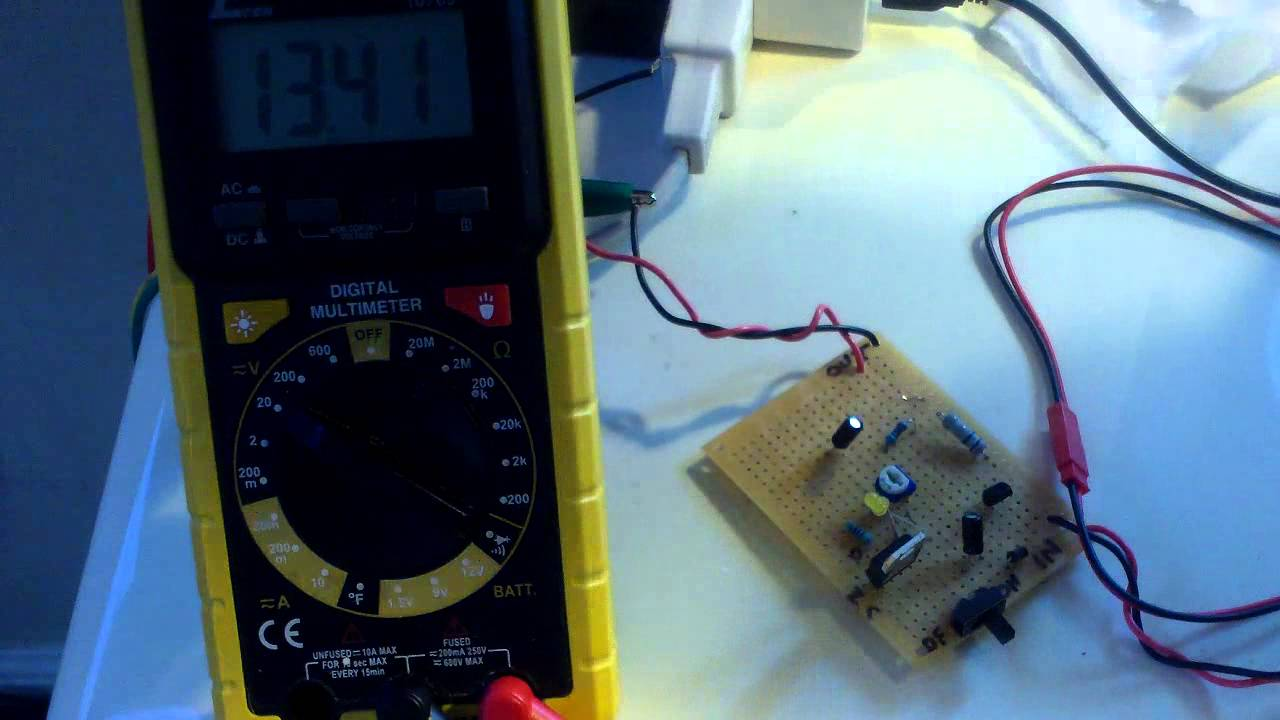 Sealed Lead Acid Battery Charger Part 2 Youtube Completed Solar With Lm317t Current Limiting Circuit