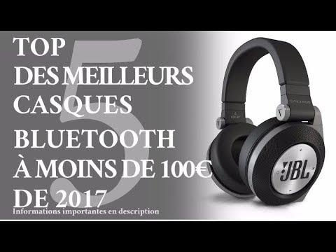Top 5 Meilleurs Casques Audio Bluetooth Pas Cher Moins 100 Youtube