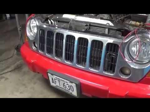jeep liberty 2005 problemas con sistema de carga (alternador)