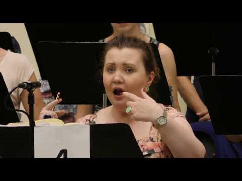 Opera Rara Rossini's Semiramide recording - The Making Of