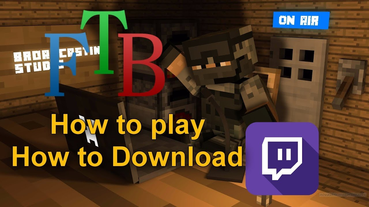 How to download FTB | How to play FTB | How to install FTB | Feed The Beast  Modpack | Dec  10, 2017