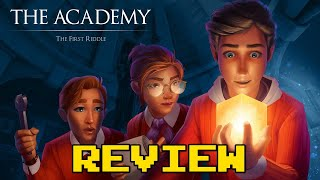 The Academy The First Riddle Review (Video Game Video Review)