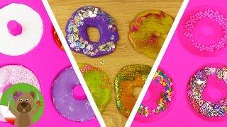 Pączki z galaretki i gluta | eksperymenty dla dzieci