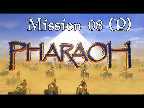 Let's Play Pharaoh [Hard] | Mission 08 (P) | Abu (Elephantine) | 1080p Widescreen