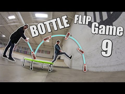 ULTIMATE Game of Bottle FLIP! | Round 9