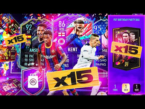 What do you get from 15 Guaranteed Party Bag Packs?