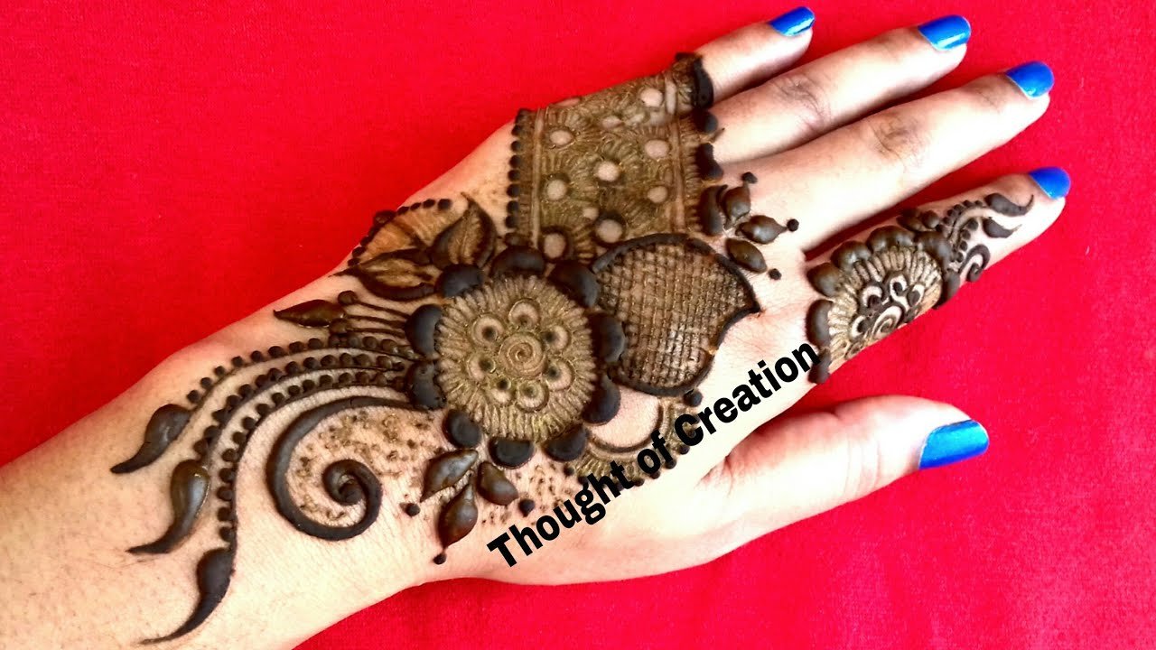 Arabic Mehndi Design New Style 2018 Mehandi Design 2018 Thought Of